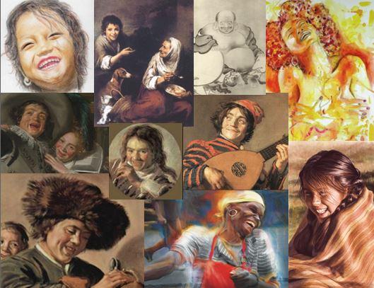 rire peinture