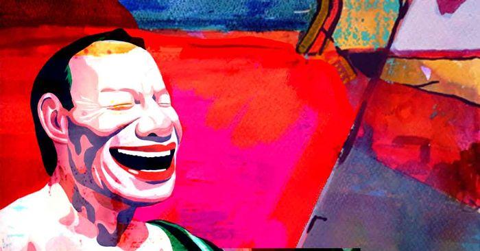 bienfaits du rire + peinture